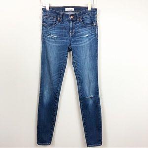 Madewell | 'Skinny Skinny' Distressed Skinny Jeans